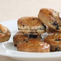 蓝莓椰子松饼的做法[图]