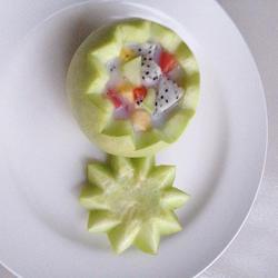 椰汁酸奶小香瓜的做法[图]