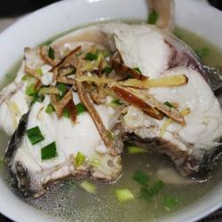 陈皮姜丝浸脆肉鲩的做法[图]