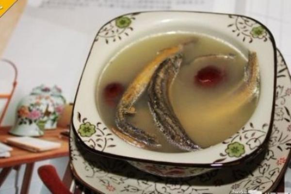 红枣泥鳅汤