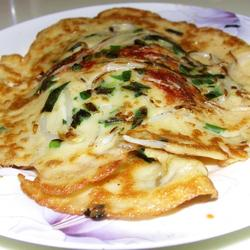 豆芽米粉煎饼的做法[图]