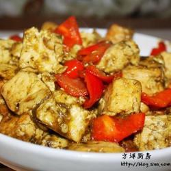 韭菜花溜豆腐的做法[图]