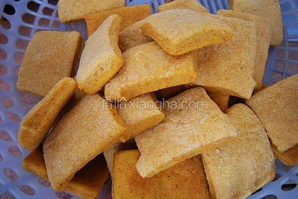 玉米面苏打饼干