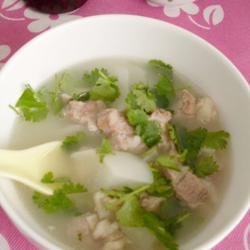 白萝卜羊肉汤的做法[图]