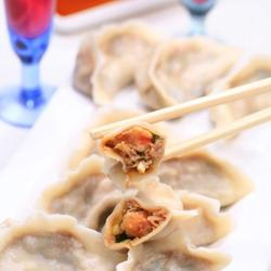 韭菜鲜虾馅饺子的做法[图]