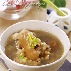 猪手眉豆汤的做法[图]