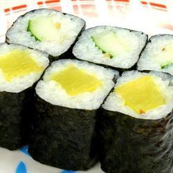 果蔬鸭蛋寿司卷的做法[图]