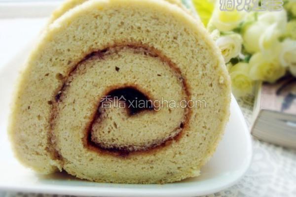 香蕉戚风蛋糕