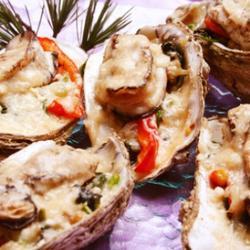 奶酪焗牡蛎的做法[图]