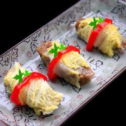 娃娃菜肉粽卷的做法[图]