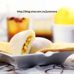 芒果奶酪白面包的做法[图]