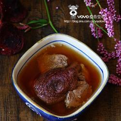 排骨红菇汤的做法[图]