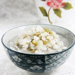扁豆薏米绿豆粥的做法[图]