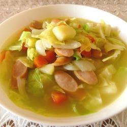 法国清淡菜汤的做法[图]