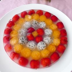 缤纷水果派果冻的做法[图]