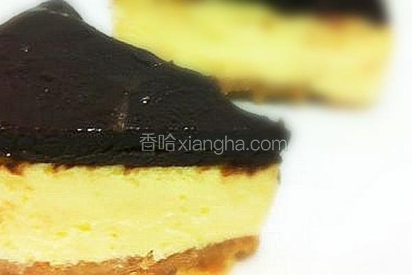 黑巧克力乳酪蛋糕