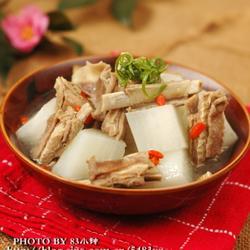 陈皮萝卜羊排汤的做法[图]
