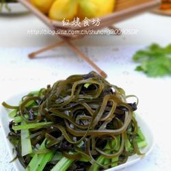 凉拌芹菜海带的做法[图]