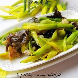 黃花菜炒木耳的做法[圖]