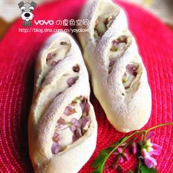 槐花棍子面包的做法[图]