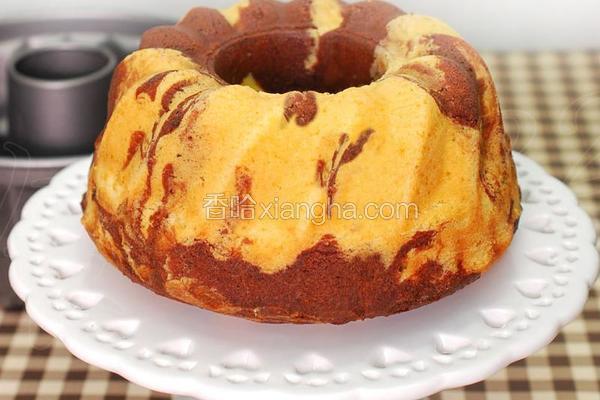 大理石咕咕霍夫蛋糕