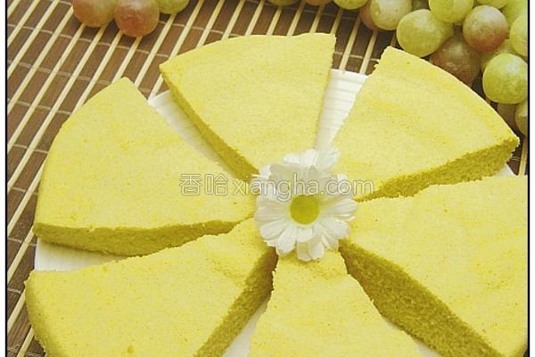 鸡蛋玉米蒸糕