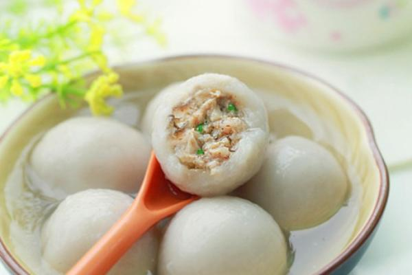香菇鲜肉汤圆