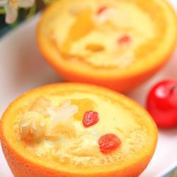 橙香蛋羹的做法[图]