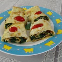 煎蛋卷马兰头的做法[图]