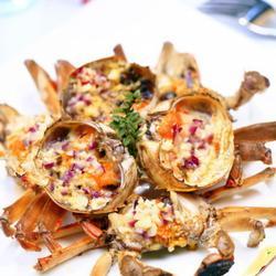 黃油焗螃蟹的做法[圖]