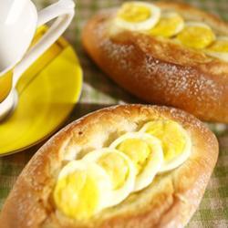 鸡蛋芝士面包的做法[图]