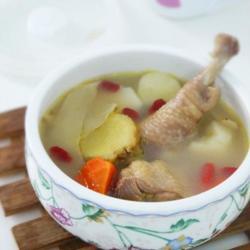 玉竹山藥老雞湯的做法[圖]
