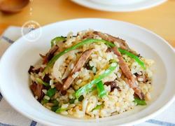 青椒牛肉炒饭