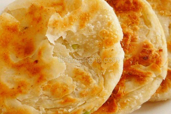 葱香豆渣酥饼