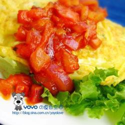 洋葱蛋包饭早餐的做法[图]
