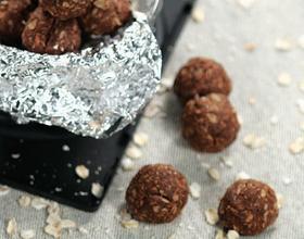 巧克力燕麦能量球
