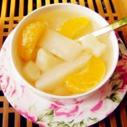 马蹄香梨橘子水的做法[图]