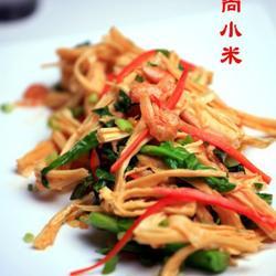 腐竹海米芥蓝的做法[图]