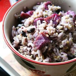杂粮米饭的做法[图]