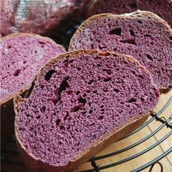 桑葚果肉大面包的做法[图]