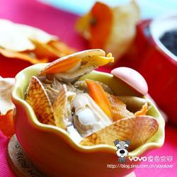 陈皮鸳鸯贝蘑菇汤的做法[图]
