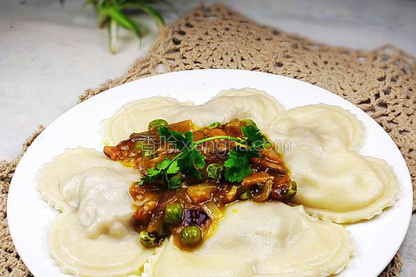 意大利咖喱饺子