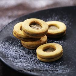 炼乳蜂蜜夹心饼干的做法[图]