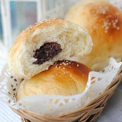 红豆沙汤种面包的做法[图]