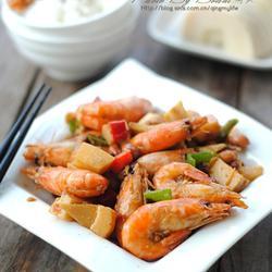 笋丁香辣虾的做法[图]
