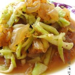 翠瓜拌海蜇的做法[图]