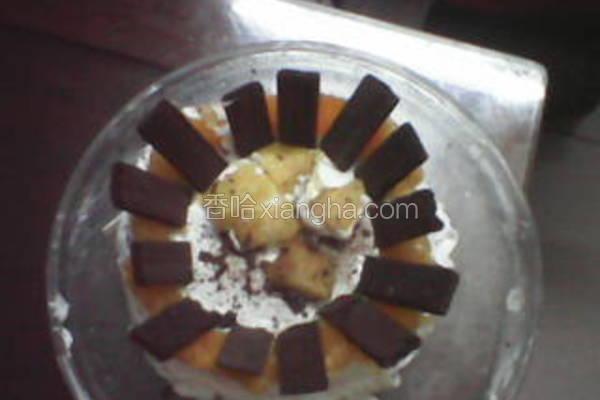 香橙芒果蛋糕