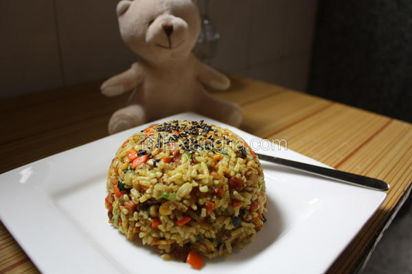 咖喱什锦炒饭