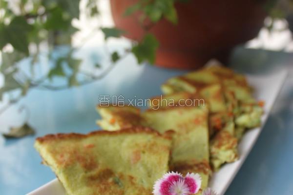 西葫芦蔬菜蛋饼