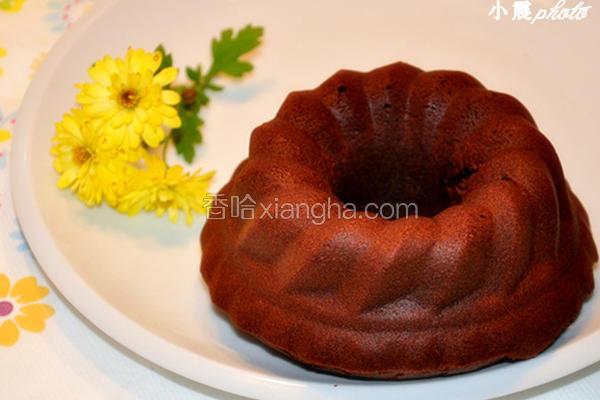 巧克力天使蛋糕